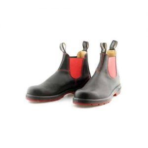 Blundstone 1316 Chelsea Boots Black/Red