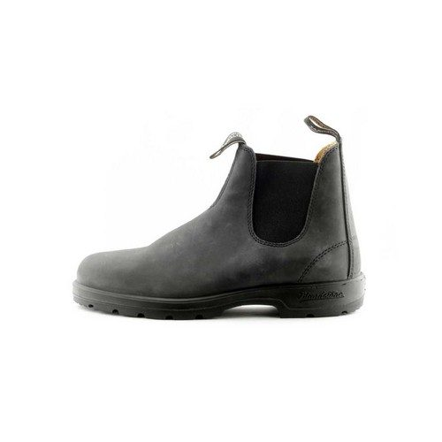 182d9fa52bdf Blundstone 587 Chelsea Boots Rustic Black - The Chelsea Boot Store