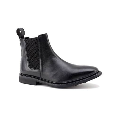 Chatham Kirk Chelsea Boots in Black