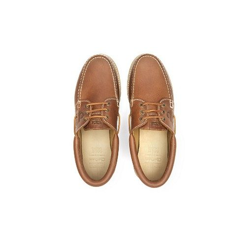 Chatham Sperrin Deck Shoes Tan