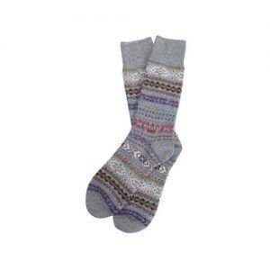Barbour Boyd Wool Pattern Socks