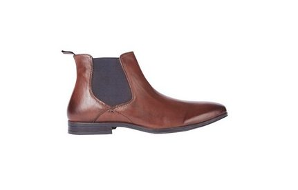 Burton Chelsea Boots Brown Leather