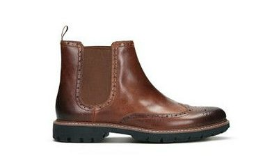 Clarks Batcombe Leather Chelsea Boots