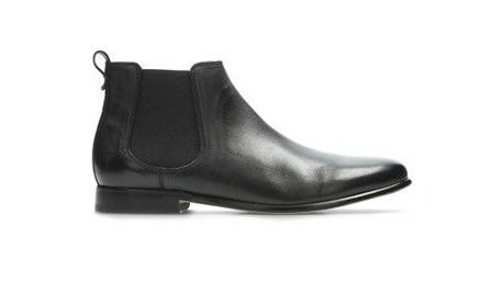 Clarks Form Leather Chelsea Boots