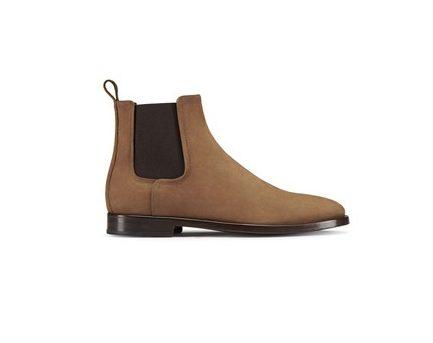Lanvin Chelsea Boots Brown