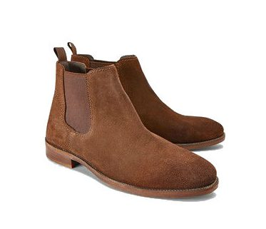 Next Suede Chelsea Boots Brown