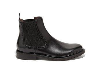 Salvatore Ferragamo Black Chelsea Boots