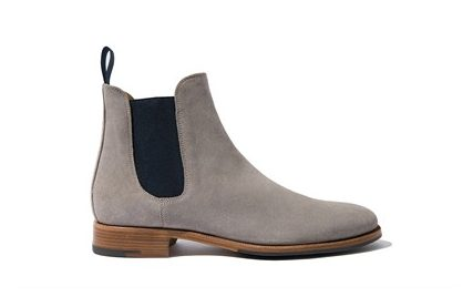 Scarosso Giancarlo Suede Chelsea Boots
