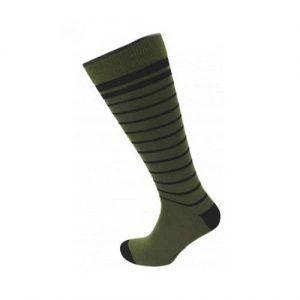 Viyella Stripe Wool Socks Long