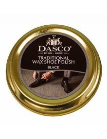Dasco Wax Black Shoe Polish