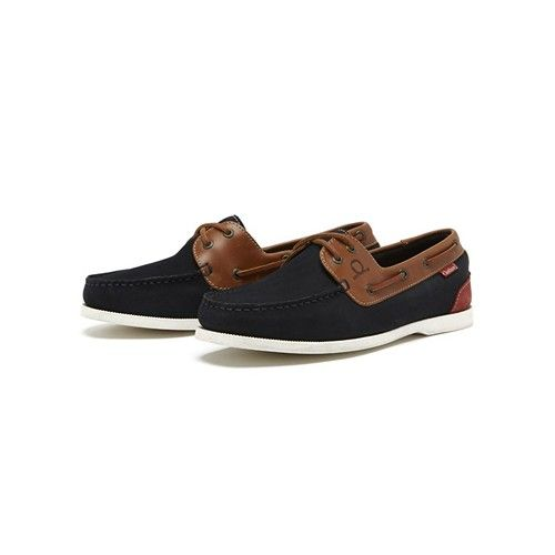 Chatham Galley Deck Shoes Navy
