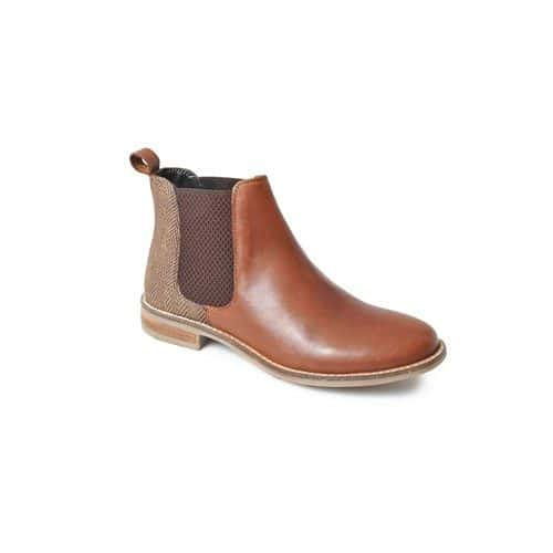 Catesby Jenny Ladies Chelsea Boots Tweed