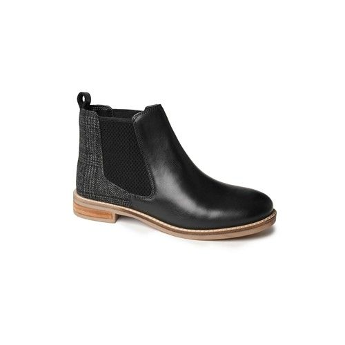 Catesby Jenny Women's Chelsea Boots Black Tweed