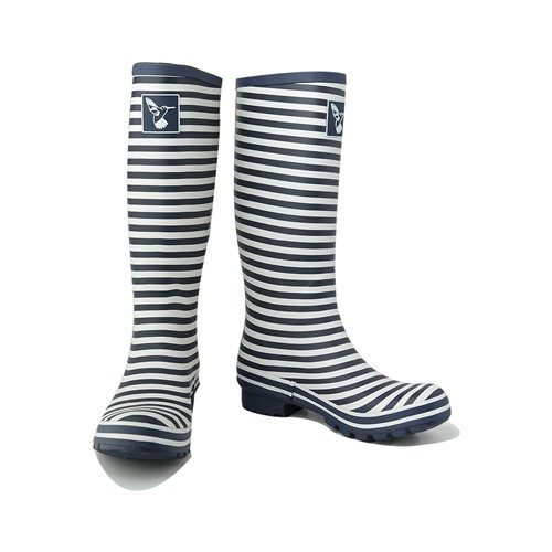 Evercreatures Bristol Wellington Boots Stripe