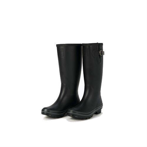 Evercreatures All Black Wellington Boots