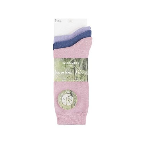 Glenmuir Women's Bamboo Fibre Socks