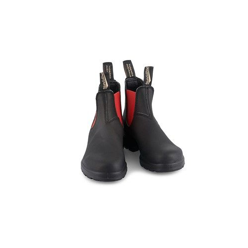 Blundstone 508 Boots Black Red