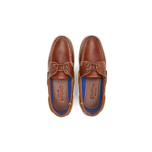 Chatham Lady Deck G2 Deck Shoes Brown