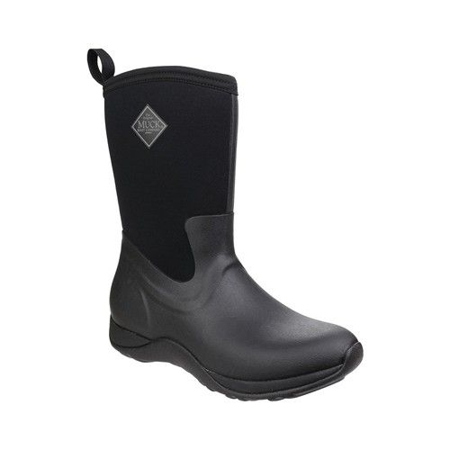 Muck Boots Arctic Weekend Women's Short Wellington Boots Black