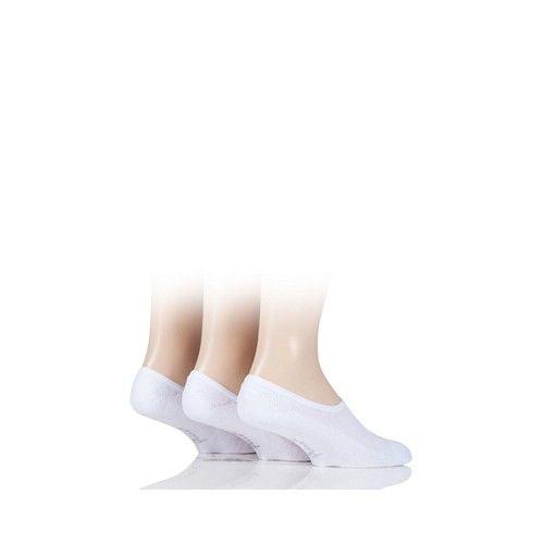 Pringle Men's Shoe Liner Socks White
